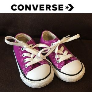 Toddler All Star Purple Converse